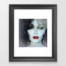 How Cruella Can U Be ?! Framed Art Print