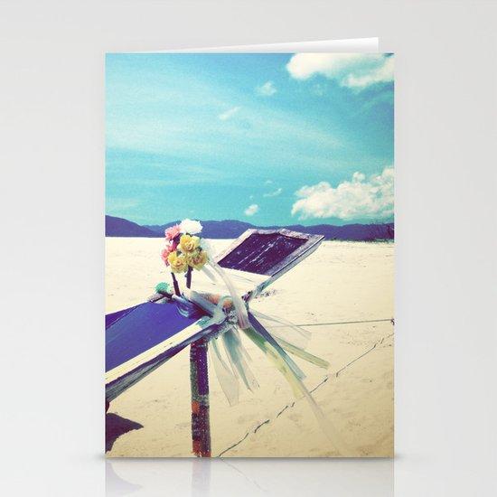 Longboat, Thailand II Stationery Cards