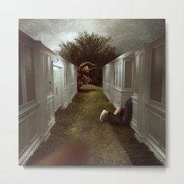 Escaping The Labyrinth Metal Print