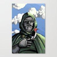 doom Canvas Prints featuring Doom by David Comito