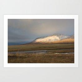 Gargantuan Landscape - Dalvik, Iceland Art Print