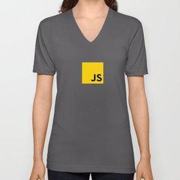 JS - Javascript programmer Unisex V-Neck