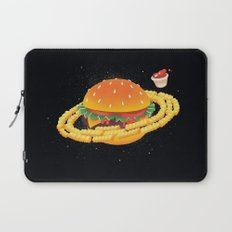 Galactic Cheeseburger & Fries Laptop Sleeve