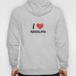 I Love Abseiling Hoody