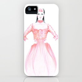 Clara iPhone Case