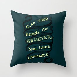Angels and Airwaves - Tunnels Throw Pillow