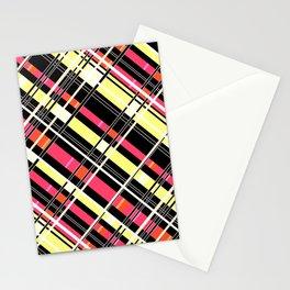 Striped pattern 12 Stationery Cards