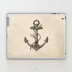 Lost at Sea - mono Laptop & iPad Skin