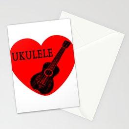 Ukulele Love Stationery Cards