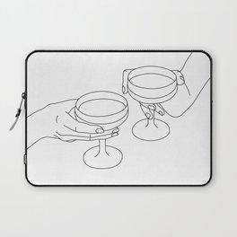 Cheers Drinking Buddies Laptop Sleeve