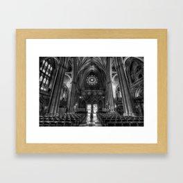 Holy Place Framed Art Print