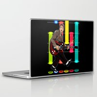 marty mcfly Laptop & iPad Skins featuring Marty McFly plays Guitar Hero by Akyanyme