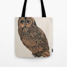 Heaton Owl Tote Bag