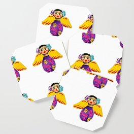 Mexican Purple Angels Coaster