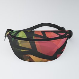 Abstract , polygonal pattern Fanny Pack