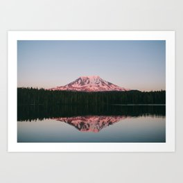 Takhlakh Lake Art Print