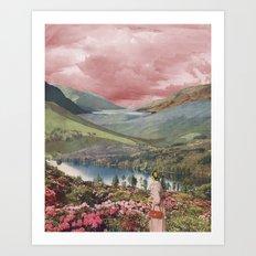Highland Dusk Art Print