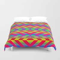 psychedelic Duvet Covers featuring Psychedelic by Texture