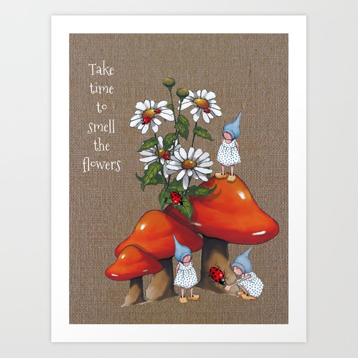 Flower Smelly Gnomes