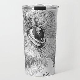 Spectacled owl Travel Mug