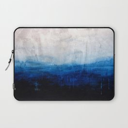 All good things are wild and free - Ocean Ombre Painting Laptop Sleeve