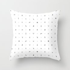 Wild West Throw Pillow