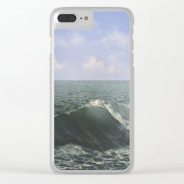 Tropic Wave Clear iPhone Case