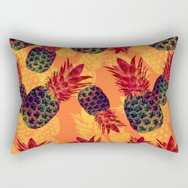 Pineapple Carnival Rectangular Pillow
