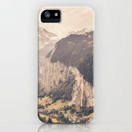 Lauterbrunnen Switzerland Landscape iPhone Case