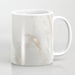 Marble Love Bronze Metallic Coffee Mug