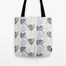 fifties Gray leaves Tote Bag