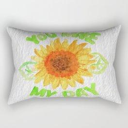 You Made My Day Rectangular Pillow