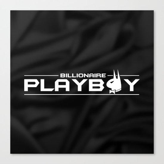Billionaire Playboy Canvas Print