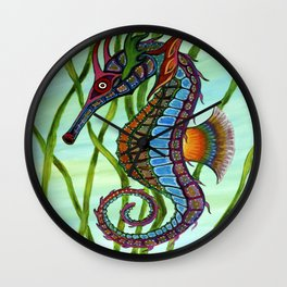 Greater Seahorse Wall Clock