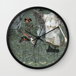 Dionysus and Apollo Wall Clock
