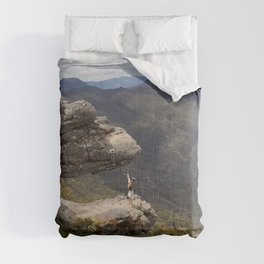 HAND STAND IN THE GRAMPIANS AUSTRALIA Comforters