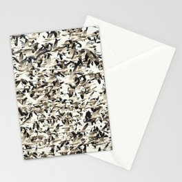 Snow Geese Migration Stationery Cards