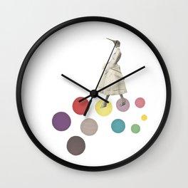 Bird Lady Wall Clock