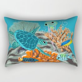 Tropicool Gathering Rectangular Pillow