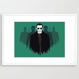 The Bitter End - Variant Framed Art Print