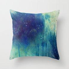 Veil of Infinity Throw Pillow