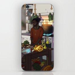 Modern Male Witch Kitchen iPhone Skin