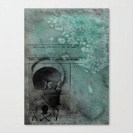 skullard Canvas Print