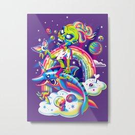 Rainbow Apocalypse Metal Print