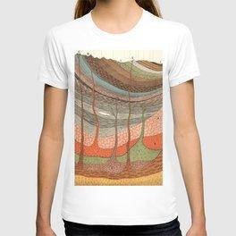 Geology Chart T-shirt
