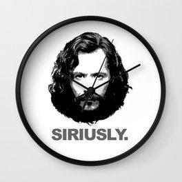 Siriusly Wall Clock
