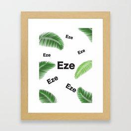 EZE (KING JESUS) Framed Art Print