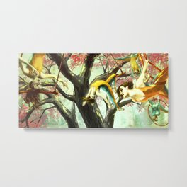 Trapeze Dream Metal Print