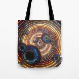 T ! M E W A R P Tote Bag