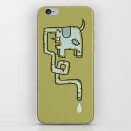 Olive Patch iPhone Skin